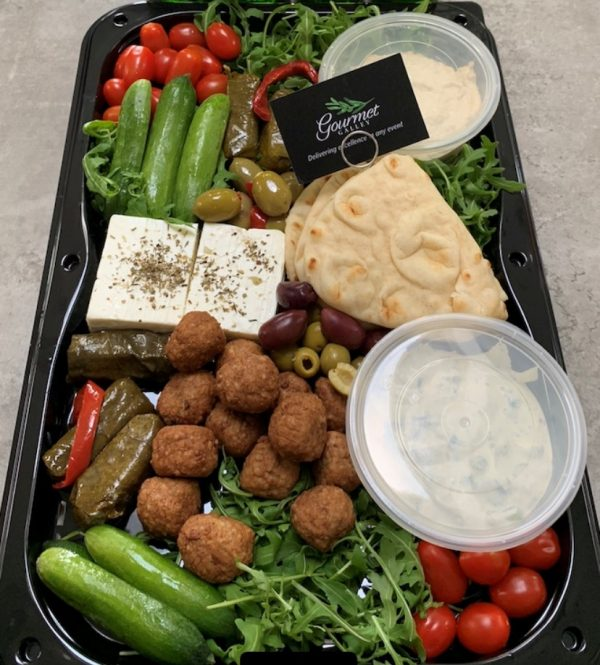 The Greek Meze Platter