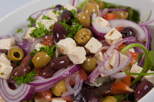 Gourmet Greek Sharing Salad 1