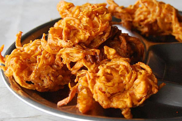 Onion Bhaji & Vegetable Samosa