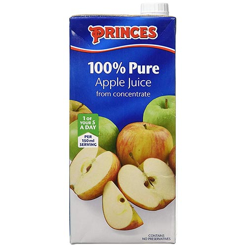 Princes 100% Pure Apple Juice 200ml