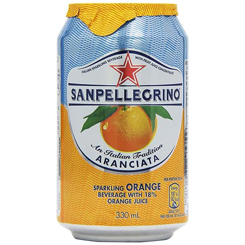 San Pellegrino Sparkling Orange