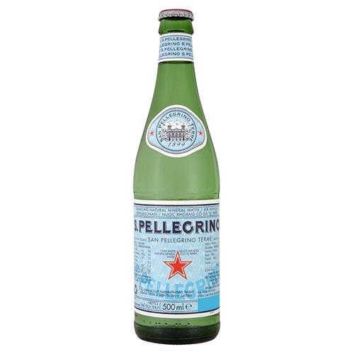 San Pellegrino Sparkling mineral water 500ml