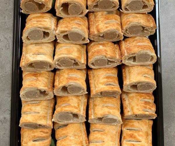Mini Puff Pastry Sausage Rolls1