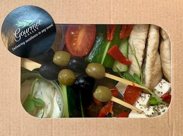The Individual Greek Meze Box main
